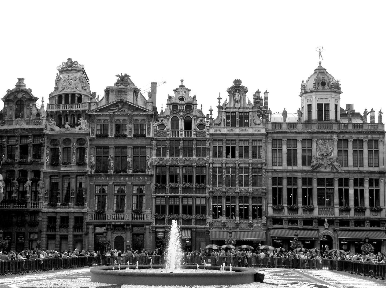Fabuleux Bruxelles en noir et blanc | Daniel Nassoy Artiste Photo'Graphiste EH69
