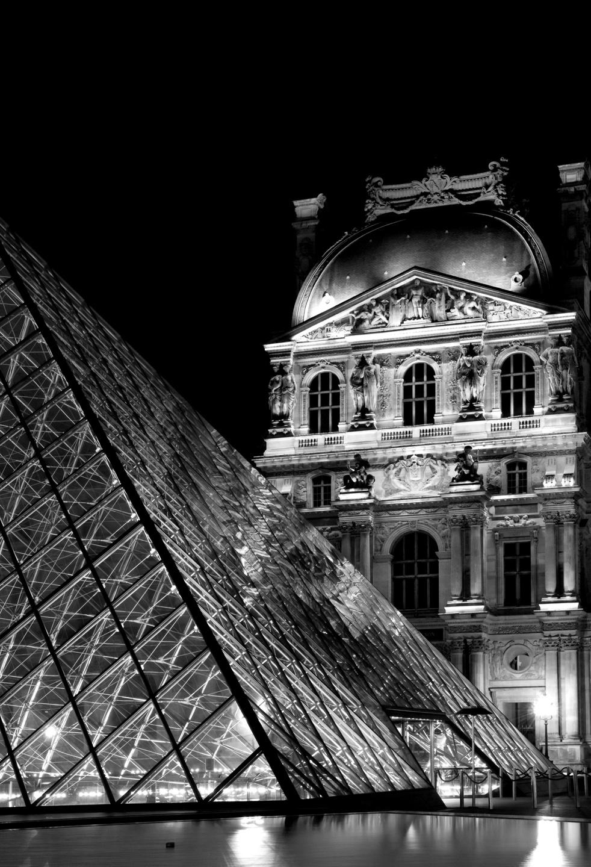 Fabuleux Paris la nuit en noir et blanc | Daniel Nassoy Artiste Photo'Graphiste EH69